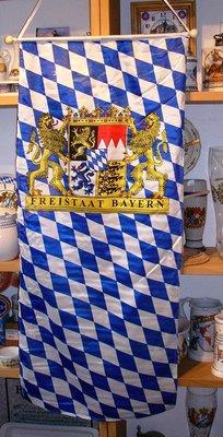 Banner Freistaat Bayern Größe 114 x 52 cm