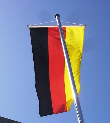 Bannerfahne Deutschland Größe 2 m x 0,90 m